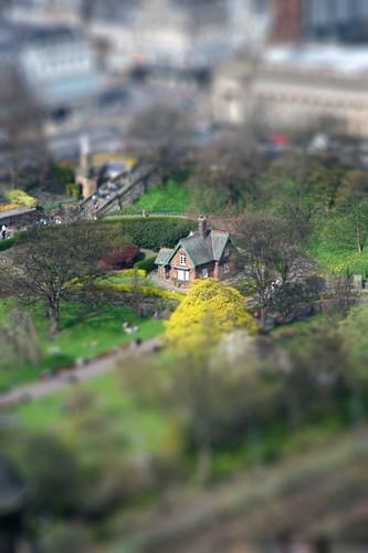 Princes St gardens by marcusjroberts.