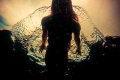idleglide (SARA LEE) Tags: water girl silhouette swim dark hawaii surface figure ripples bigisland beneath glide sarahlee legothenego niap vivantvie weliweli