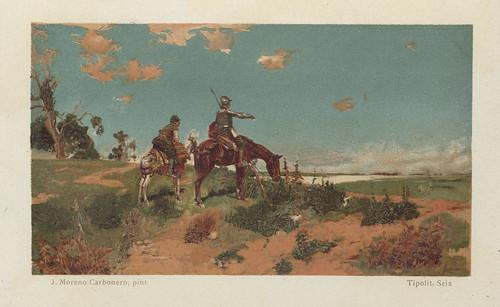 023-El Ingenioso Hidalgo Don Quijote de la Mancha-1905- José Moreno Carbonero