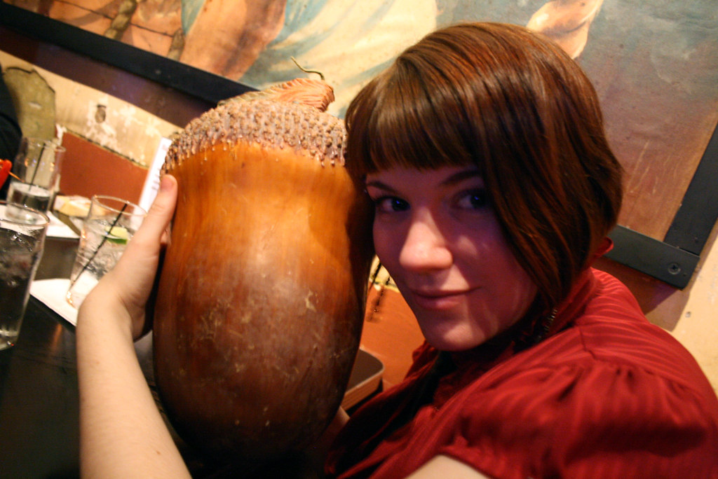 Day 17: Amy and the Giant Acorn