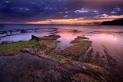 luces magicas (natalia martinez) Tags: sea landscape atardecer mar cielo natalia martinez magia 1020sigma canon40d nataliamartinez