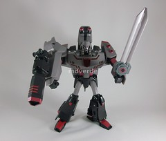 Transformers Megatron Animated Leader - modo (by mdverde)
