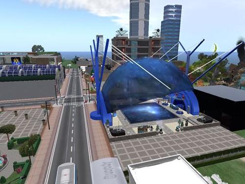Portál česko-slovenskéh města Tornado City ve virtuálním světě Secondlife