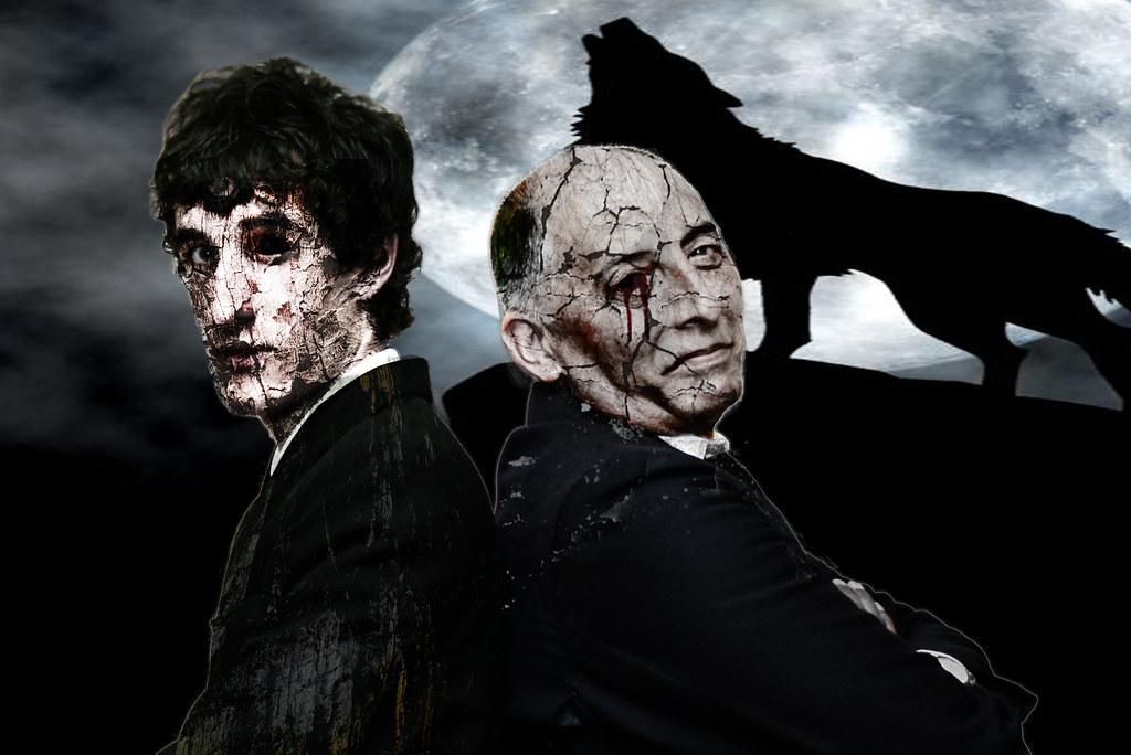 Photoshop zombies dark