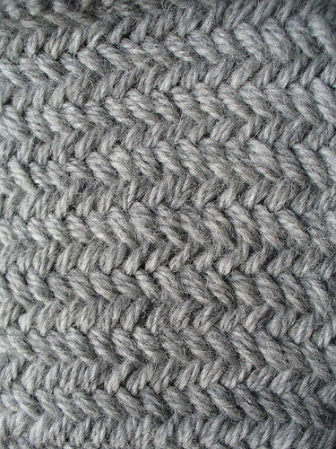 Double Stockinette, or Miniature Herringbone