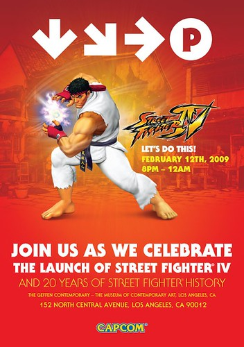 Street Fighter IV launch event