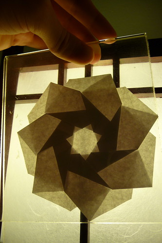 Heptagonal Flower Twist, by Andrew Hudson