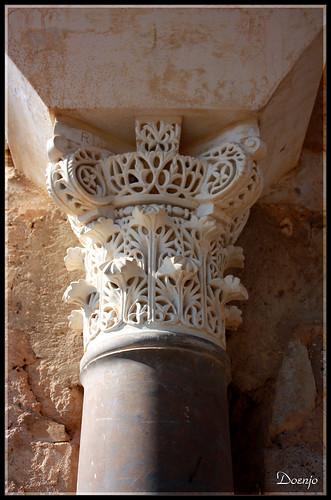 Madinat al-Zahra (Capitel de avispero)