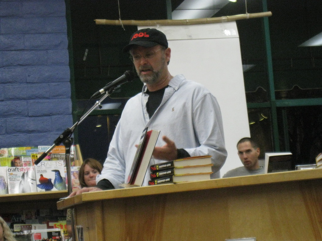 Christopher Moore at Capitola Book Cafe