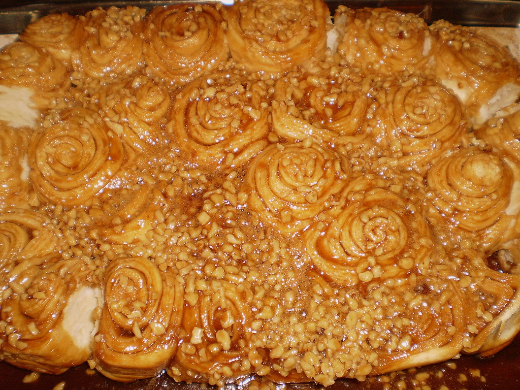 Caramel Sticky Buns with Splenda