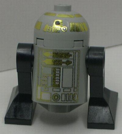 Gold R2 custom minfig