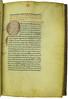 Decorated initial in Cicero: De officiis