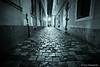 Night Walk in Budapest (-yury-) Tags: street longexposure light monochrome night canon hungary mood budapest 5d buda magyarország supershot abigfave будапешт ultimateshot венгрия
