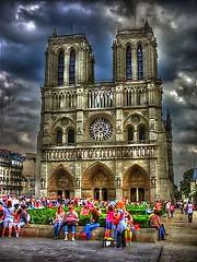 Notre Dame De Paris HDR (☆☆☆Patrick.D☆☆☆) Tags: paris france cathedral hdr notredamedeparis