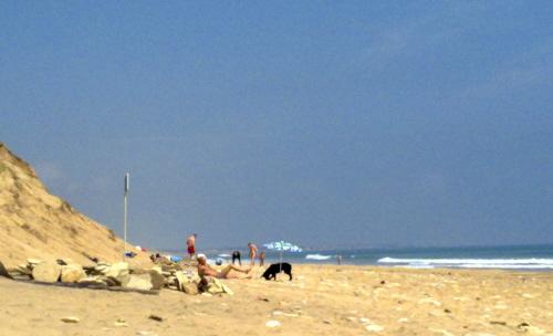 plage Les sables
