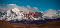 Torres del Paine (l ptit lucin) Tags: chile travel viaje blue sky patagonia azul clouds landscape xpro nikon paisaj