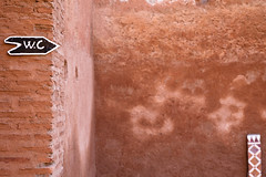 (Benedict Beirer) Tags: africa travel sign wc morocco canon5d toilett