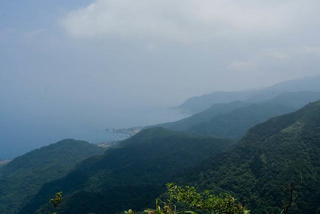 Taiwan's eastern coast