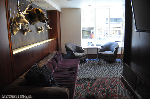 VIP Lounge in The Six15 Room at Grand Hotel ~ Minneapolis, MN