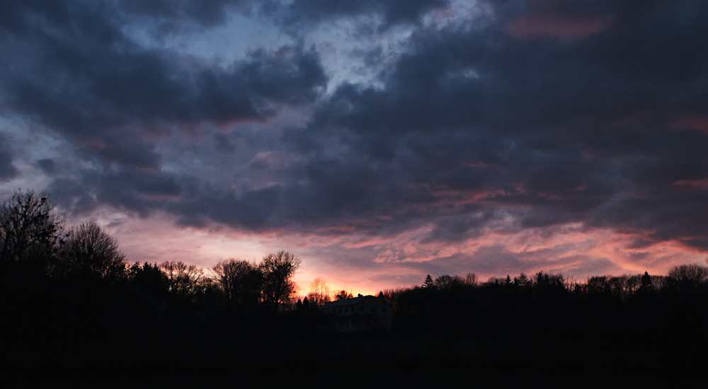 Закат над стадионом «Юность» © 2010 Alex Nedoviziy