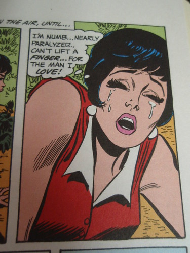 lois lane, beaten numb