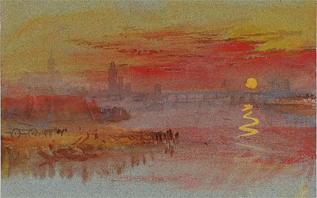 turner - The Scarlet Sunset