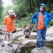 Indian Lake students on a field trip to Natural Stone Bridge and Caves. Photo: George DeChant.