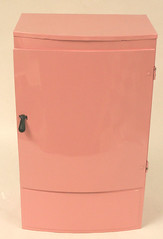 "Restored 50s Wolverene Child's Toy Fridge for sale • <a style=""font-size:0.8em;"" href=""http://www.flickr.com/photos/85572005@N00/2311261025/"" target=""_blank"">View on Flickr</a>"