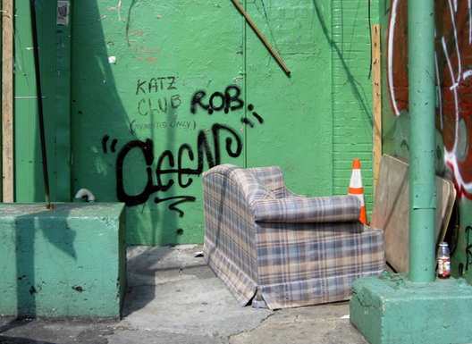 Montrose Avenue Couch Crop