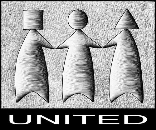 United (Ben Heine)