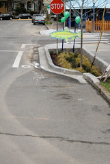 New markings at SE 12th and Clay-1.jpg