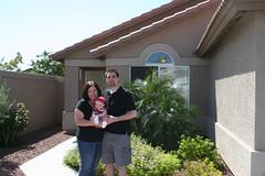 Mama, Dad and Hayden - House on Behrend