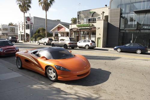 Vision car in Venice