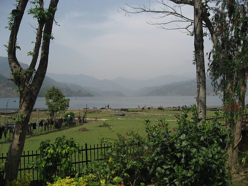 Lake view from Boomerang's terrace