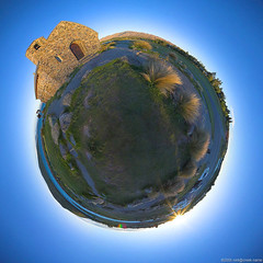 Planet Tekapo (neilcreek) Tags: world panorama church good shepherd fisheye planet churchofthegoodshepherd littleworld