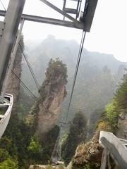 tram from the top zhangjiajie (openyourheart) Tags: china photography liriver shanghai chengdu zhangjiajie xingping lisachun