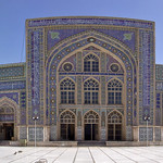 Inside the blue mosque in Herat