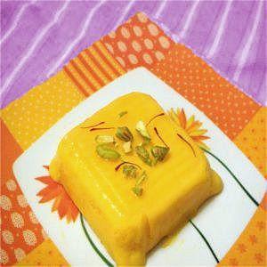 mango mousse-mango kulfi