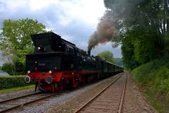 steam engine (fry2k) Tags: classic train eisenbahn ev tradition steamengine dampflok teutoburgerwald twe teuto teutoexpress brochterbeck eisenbahntradition