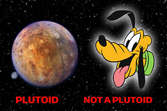 Pluto the Plutoid, Pluto the Cartoon Dog