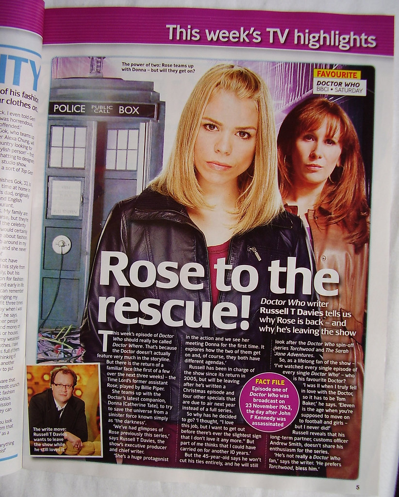 TV GUIDE - Inside