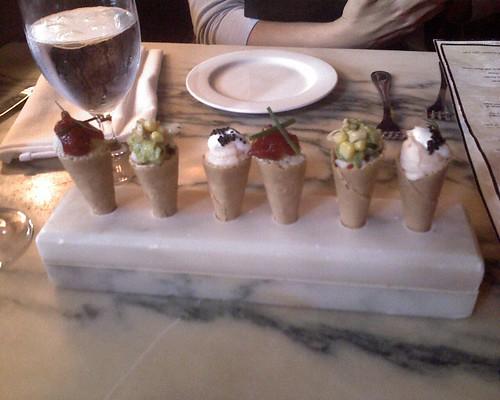 Look, kids, ice cream cones!