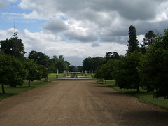 View towards the Pavilion, Wrest House and Park