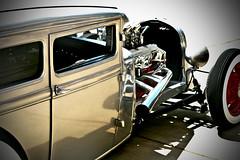 Lowride Rod (crashmattb) Tags: classic automobile bokeh plugin carshow hotrods canonef50mm18ii canoneosdigitalrebelxti adobephotoshopcs3 redynamix dcetools goodguysrodcustom 3rdnashvillenationals medichance