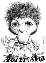 HOFFMAN, Ernest Theodor Amadeus (Morales de los Ros) Tags: writers caricaturas philosophers caricatures escritores filsofos