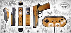 Wii Vintage Mod Concept II (Joe D!) Tags: wood light game classic vintage video mod videogame remote concept modification controller woodgrain joed veneer wii nyko instructables wiimote vintagepunk nintentdo