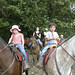 Kyra and Aiden horseriding