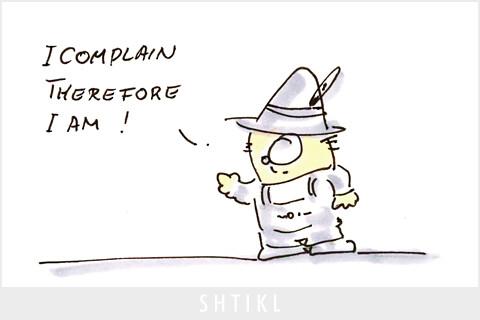 I Complain by Shtikl. CC BY-NC-SA