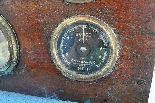 Carnegie - speedometer and odometer