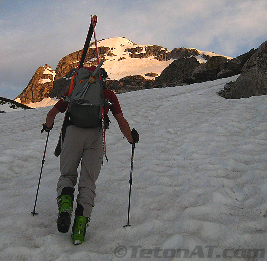 Randosteve hikes towards Buck Mountain